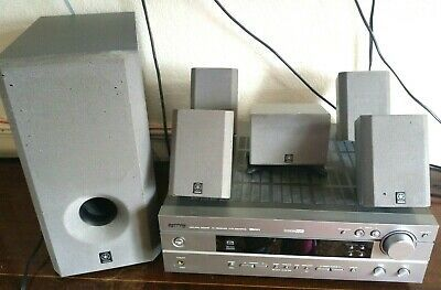 Details about Yamaha HTR-5540RDS 5.1Ch Amplified Home Cinema System + SW-P201 Sub + 5 NX-220Ps