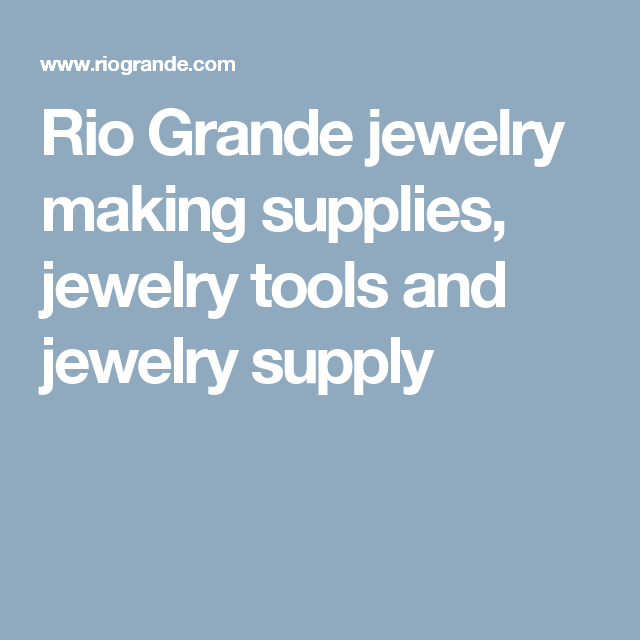 38++ Rio grande jewelry supply phone number ideas