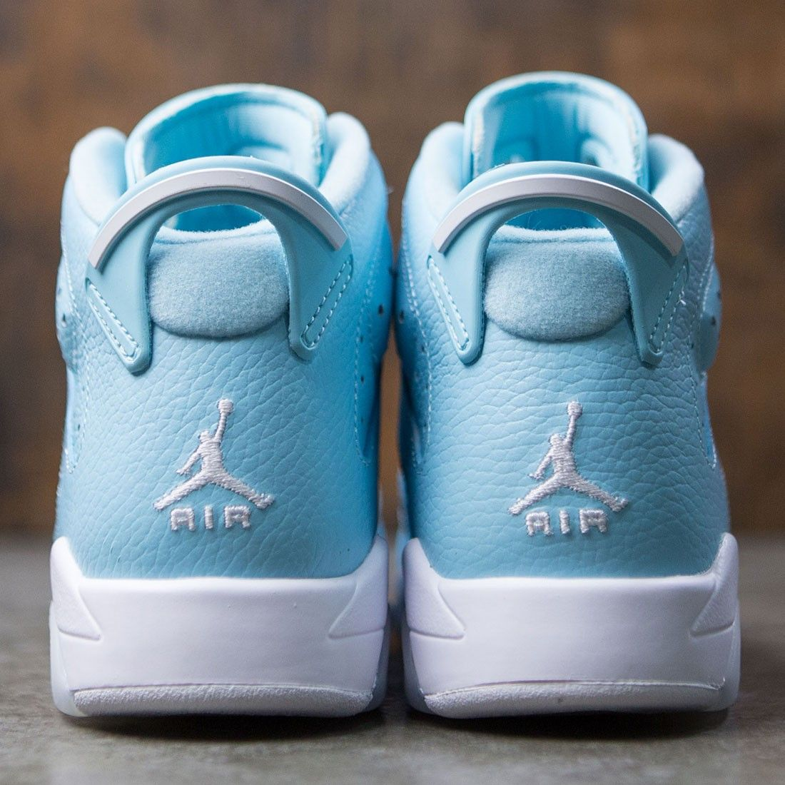 2c325c191a42 Jordan Big Kids Girls  Air Jordan 6 Retro (GS) (still blue   white-white)