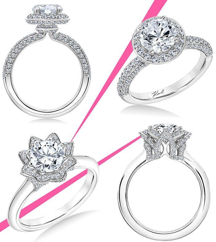 Sneak Peek At Karl Lagerfelds Engagement Ring Collection