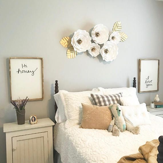 Hi Honey Bedroom Signs Nighstand Signs Farmhouse Sign