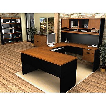 Innova U Desk Executive Office Suite Ofg Ex0096 Home Furniture Cly