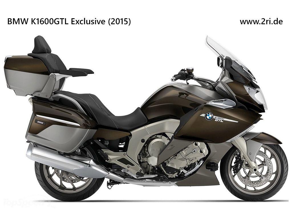 Bmw K1600gtl Exclusive 2015 Bmw Motorrad Bmw Motorad Bmw Touring