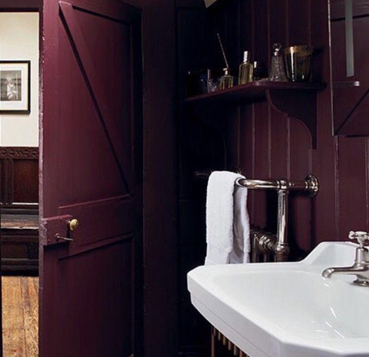 farrow ball brinjal paint colour interiors pinterest couleurs maison couleur peinture. Black Bedroom Furniture Sets. Home Design Ideas
