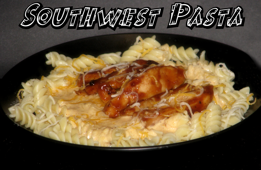 I love pasta...with BBQ? Sounds good to me!