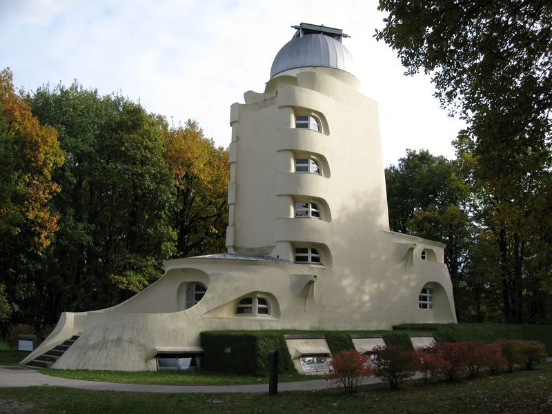 "The ""Einsteinturm"" in Potsdam, Germany, is the first important building designed by the famous architect Erich Mendelsohn. It was planned and built in the years 1919 to 1924"