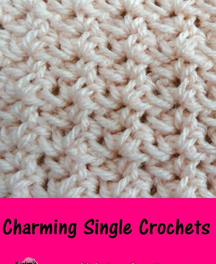 Charming Single Crochets Free Crochet Pattern Meladoras Crochet