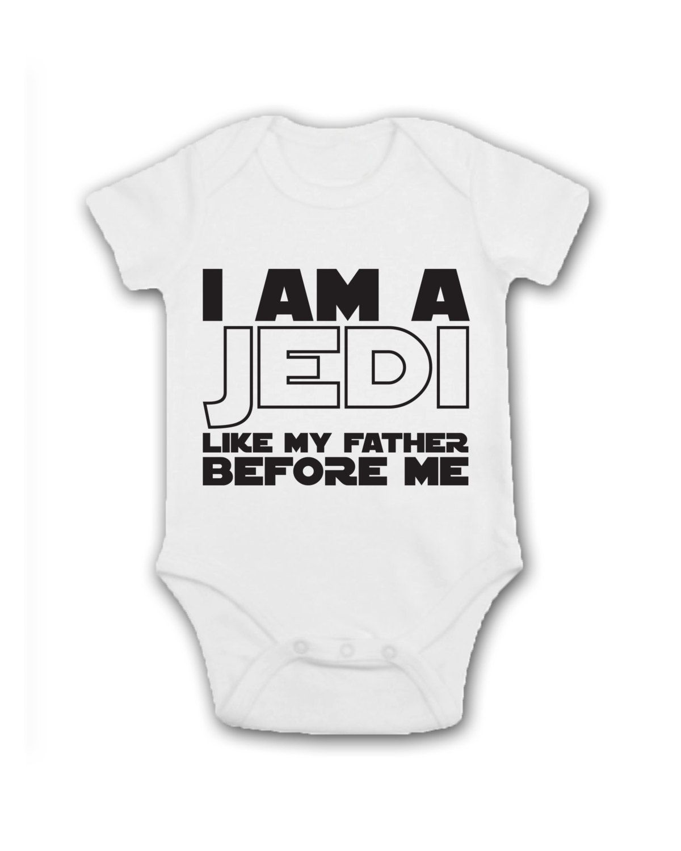 Star Wars Jedi Baby Short Sleeve Bodysuit