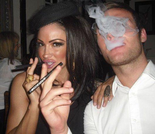 Jodie marsh smoking