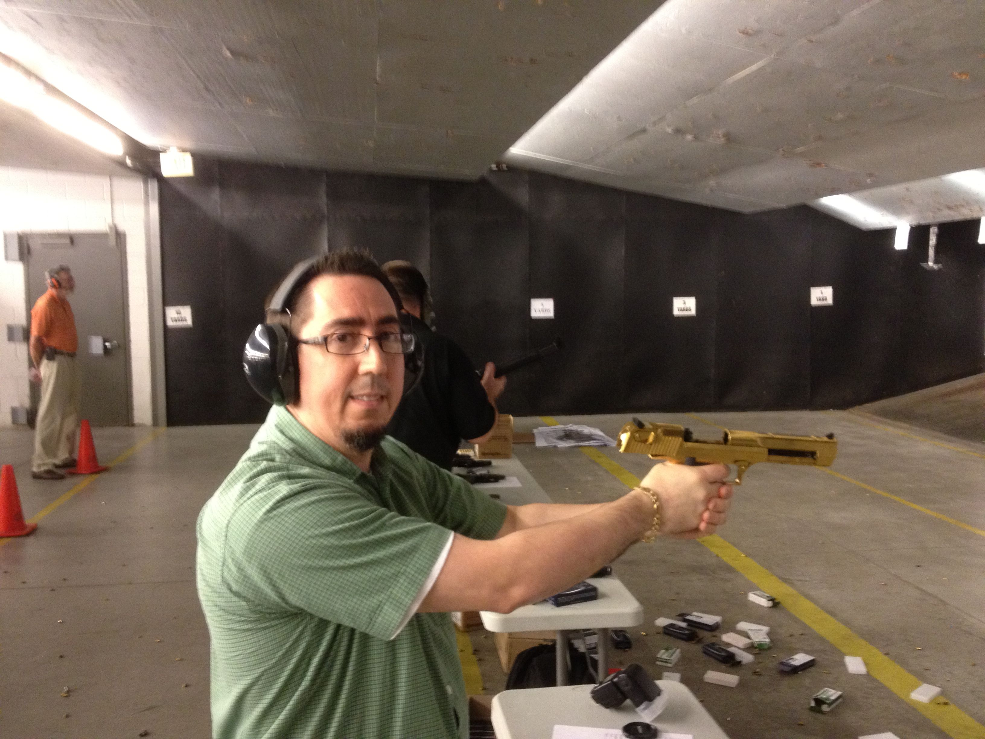 Had a great time shooting the golden desert eagle 50