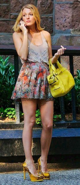 Gossip Girl   Serena Van Der Woodsen Style Envy. Way Too Short But Really  Cute!