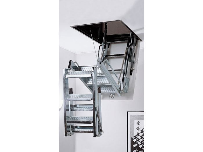 Best Mobirolo L3 Steel Folding Loft Ladder Scări 640 x 480