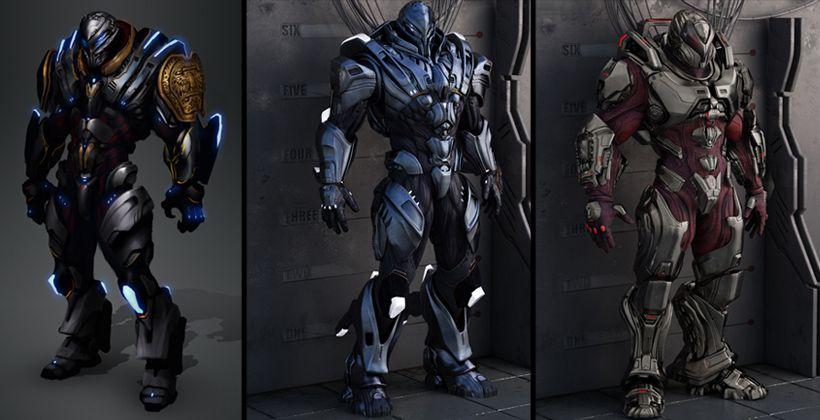 Cgsociety Section 8 Power Armor Armor Fantasy Armor