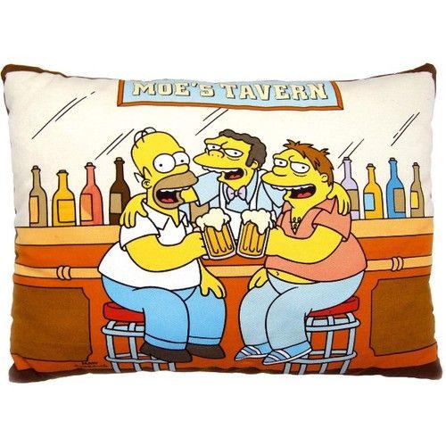 Das Homer Simpson Moe S Tavern Kissen Ist 50x40 Cm Gross Dieses
