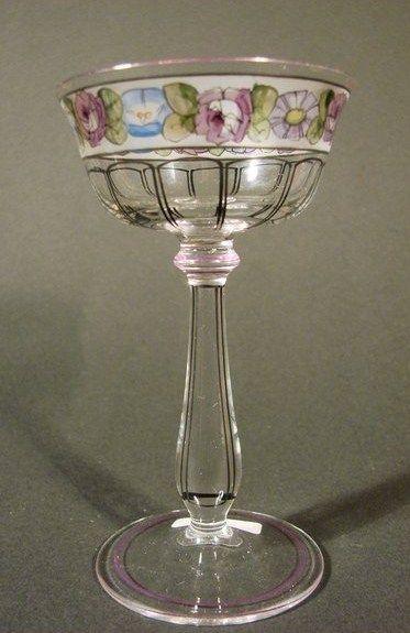 Haida Steinschonau Likorglas Um 1920 Glaskunst Schone Lampen