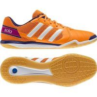 zapatillas adidas naranja futbol