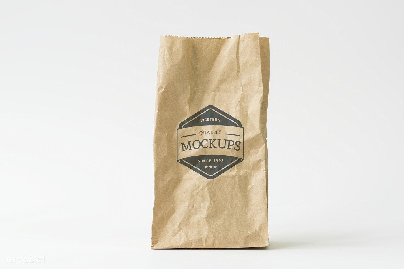 Download Download Premium Psd Of Recycle Paper Bag Mockup 296320