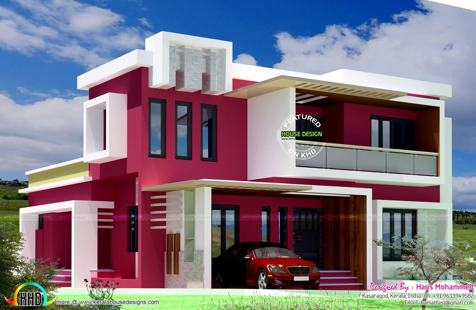 Box Type Contemporary Home Modern House Facades Modern