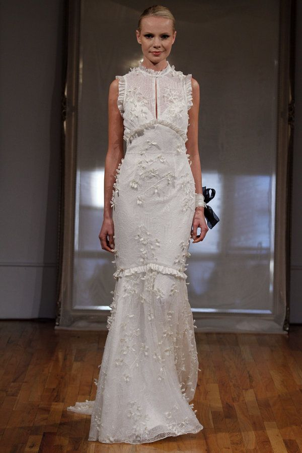 Elizabeth Fillmore: Colette Chantilly lace with taffeta ...