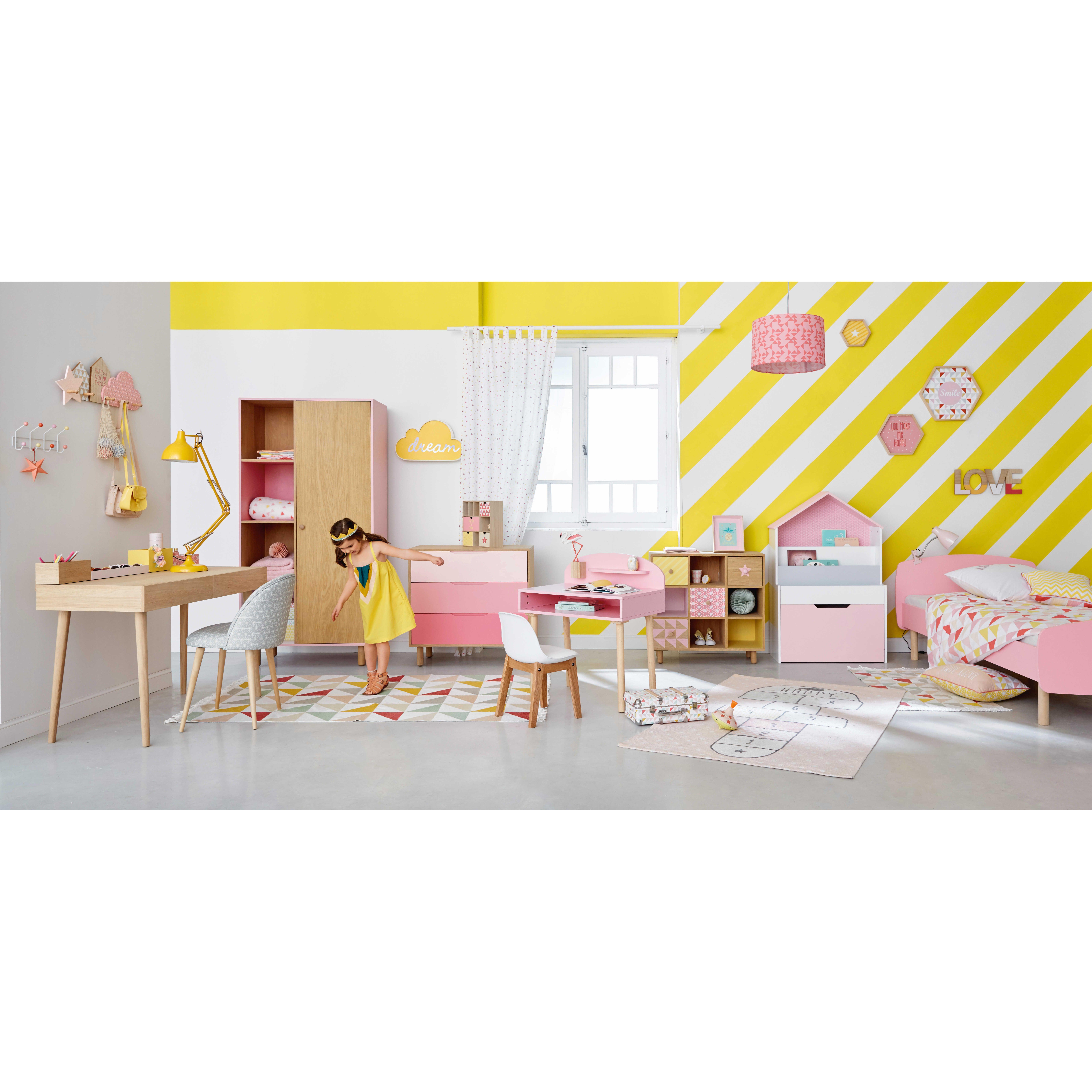 cheap bureau en bois l cm lea maisons du monde with maison lea. Black Bedroom Furniture Sets. Home Design Ideas