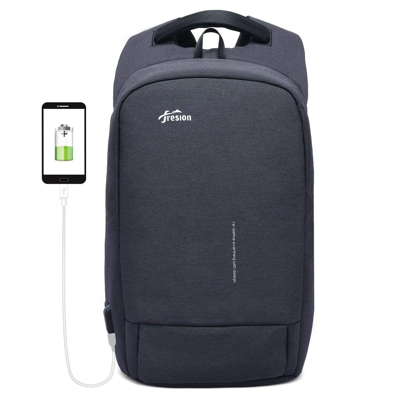 138cfa328b Fresion Sac à dos antivol pour ordinateur portable Sac à dos résistant à  l'eau