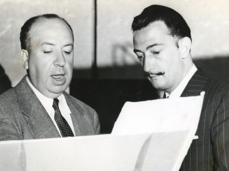 Hitchcock and Salvador Dali. For 1945's Spellbound, Hitchcock brought in surrealist artist Salvador Dali to help concoct the film's complex dream sequences.