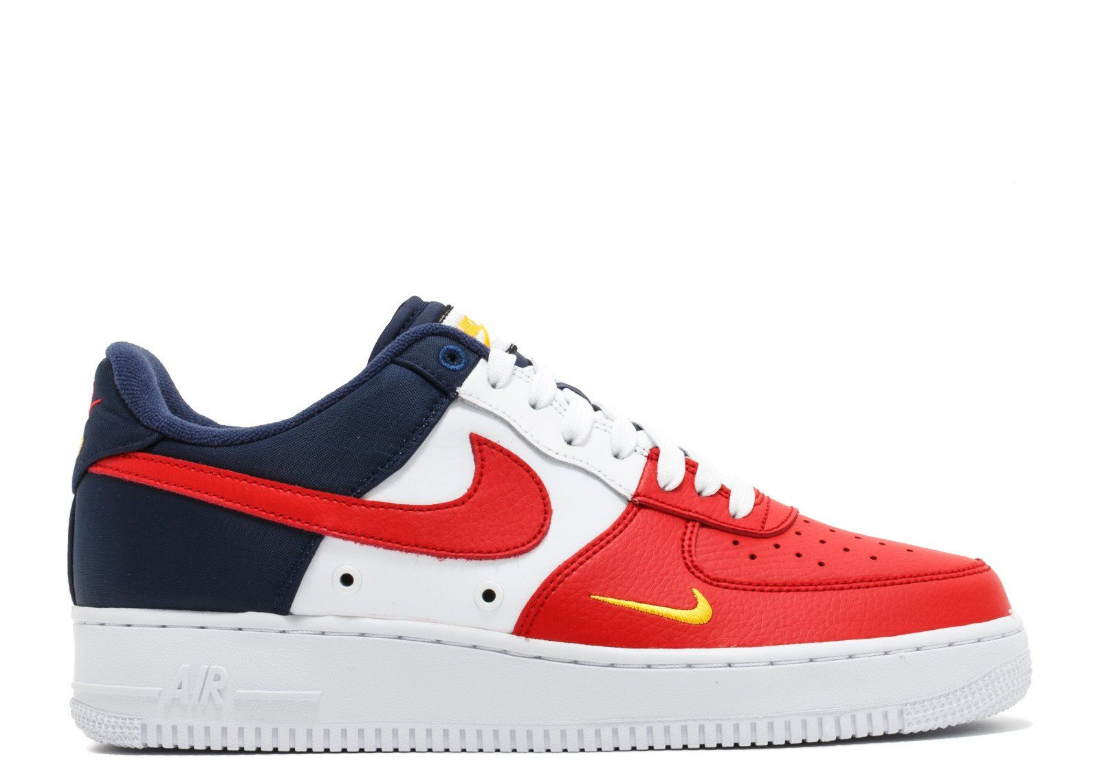 Nike Air Force 1 Low Independence Day (2017) in 2020 | Red