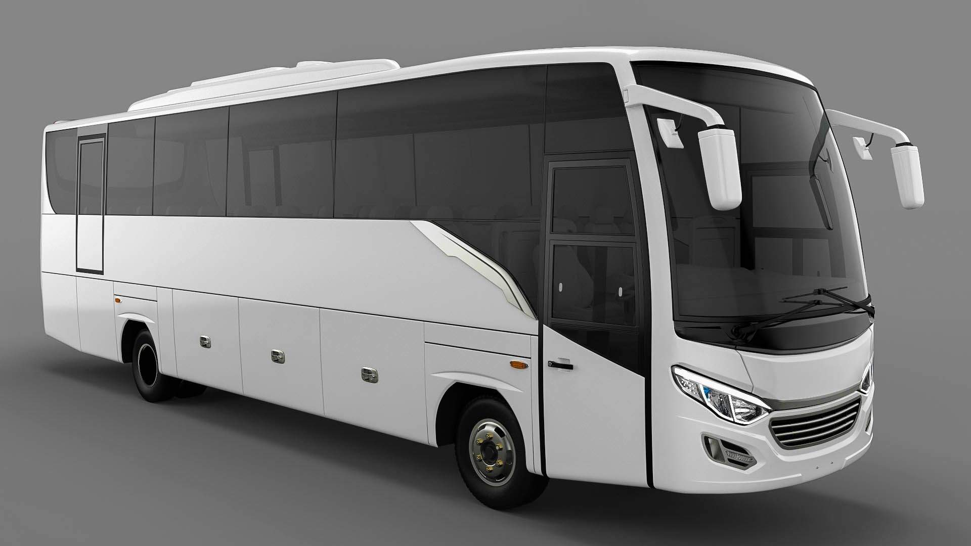 The New Model Medium Bus Design on PT Adi Putro with