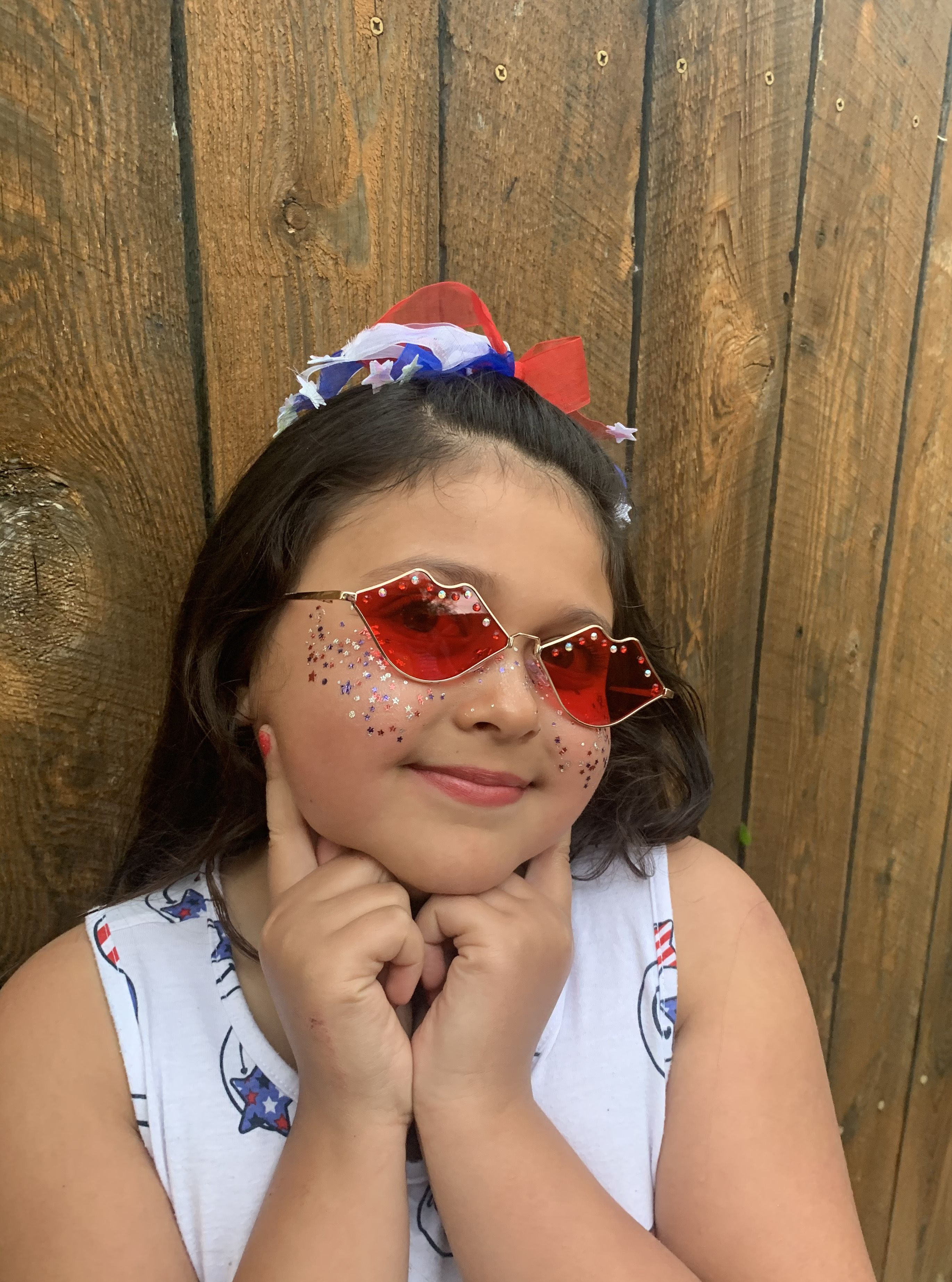 Photo of 4th of July Freckles & Lip Luscious frames!