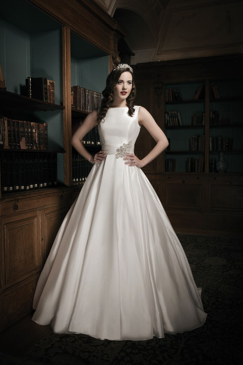 Simple silk wedding dresses  Wedding Gown Gallery  Wedding  Pinterest  Wedding dress Weddings
