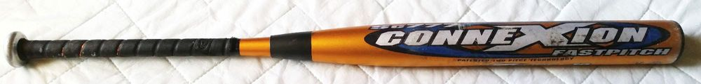 "Easton ConneXion ST7-ZB Zcore Sc777 Fastpitch Softbal Bat TWO PIECE 33""/23oz -10 #Easton"