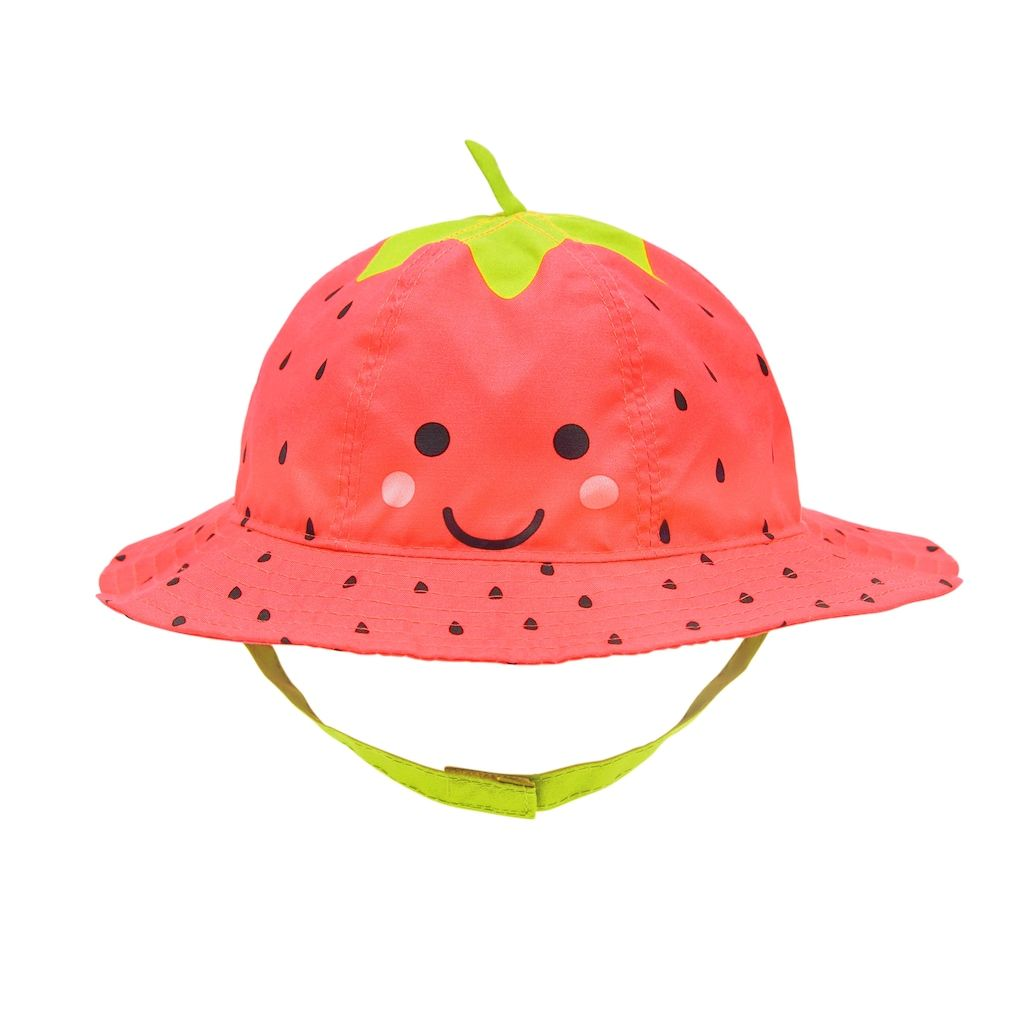 104619c46 Toddler Girl Strawberry Bucket Hat, Size: 2-4, Pink Team | Products ...