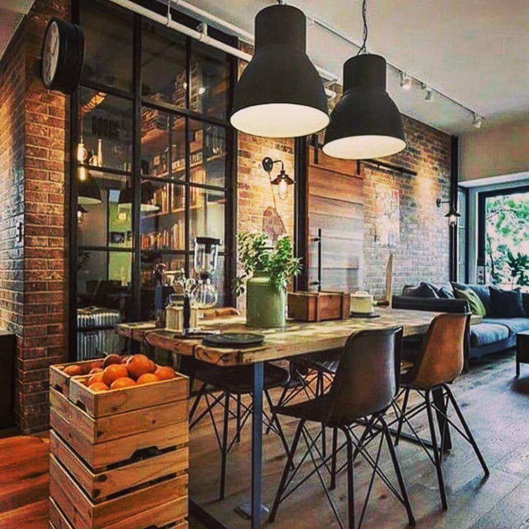Industrial Kitchen Windows: A Decoração Estilo Induatrial Está Em Alta! E Voce Gosta