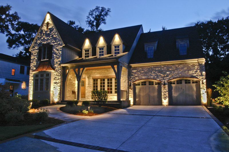 House Down Lighting Outdoor Accents