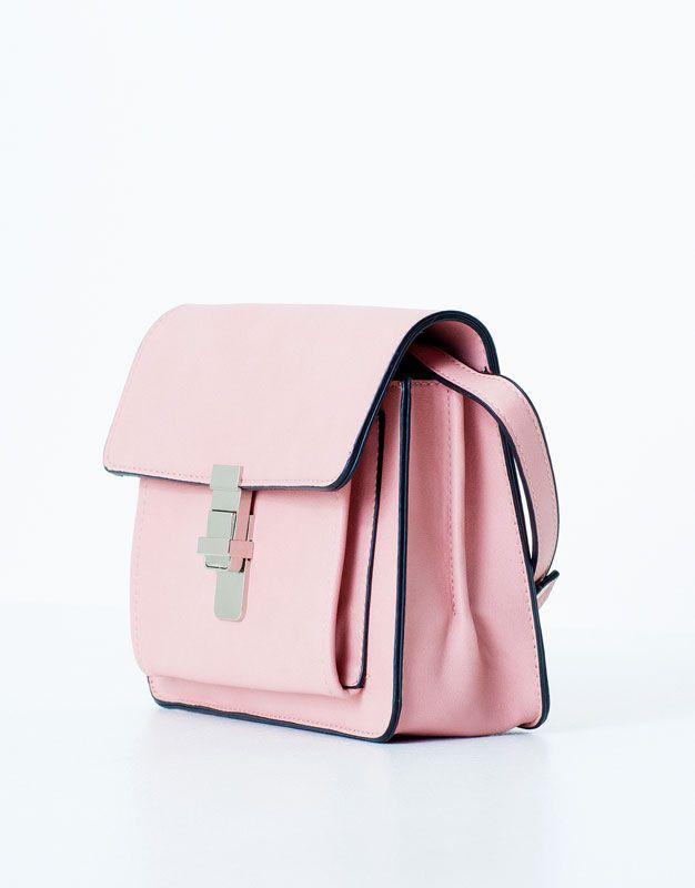 635ea105e Pull&Bear - mujer - bolsos y carteras - bolso cuadrado - rosa ...