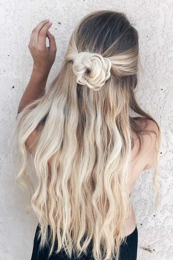 Try 38 Half Up Half Down Prom Hairstyles Lovehairstyles Com Easy Homecoming Hairstyles Long Hair Styles Hair Styles