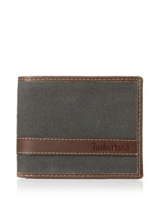 46% OFF Timberland Men's Canvas Hunter Passcase (Charcoal)