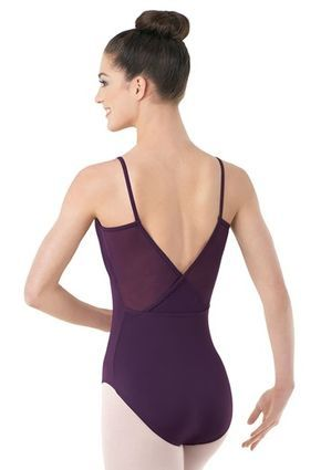 4653e4c7b8ad Mesh V-Back Leotard