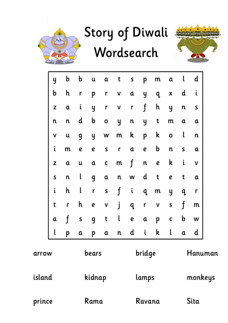 Kid Word Searches Diwali Kids Word Search Coloring Pages For Kids Coloring For Kids [ 1132 x 800 Pixel ]