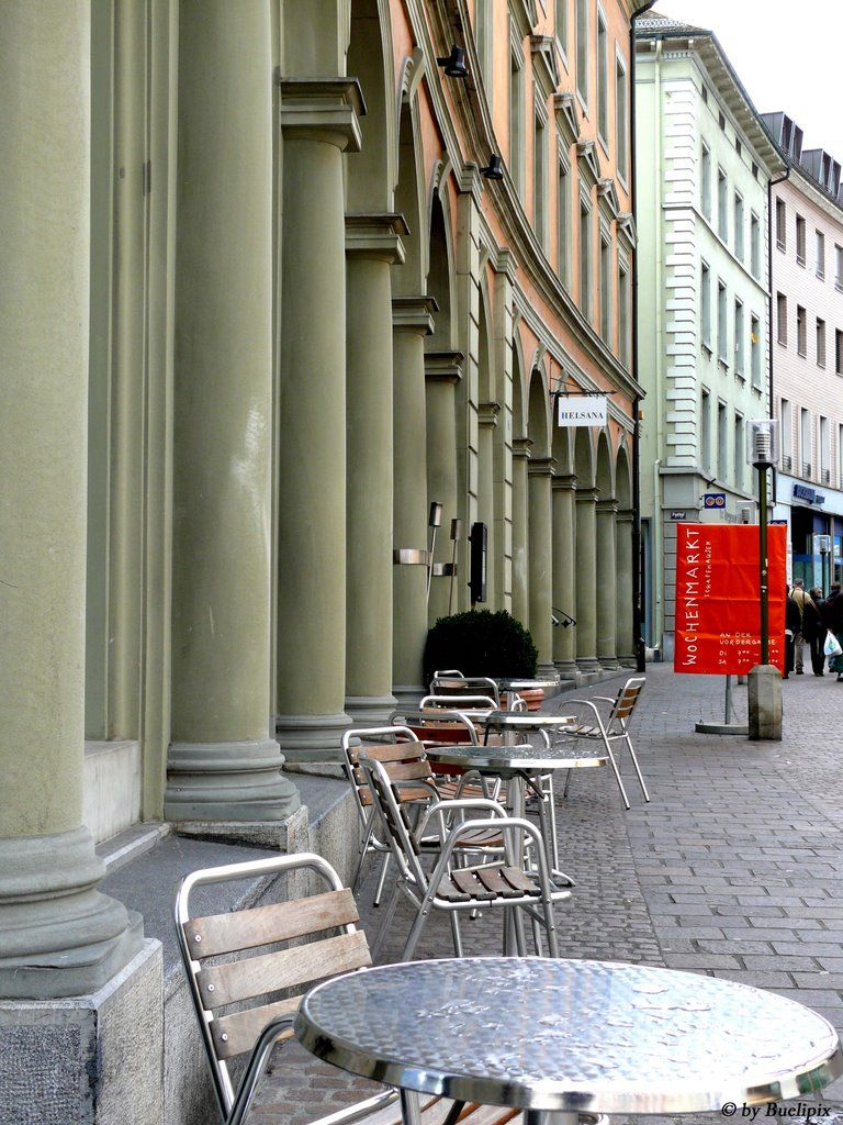 Schaffhauser-Fassaden   (© Buelipix)