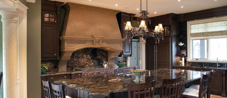 Best Stone Kitchen Hood Stone kitchen, House design