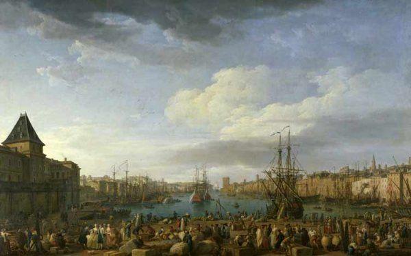 Int rieur du port de marseille joseph vernet napoleon 39 s time 2 pinterest marseille and - Le port de bordeaux par joseph vernet ...
