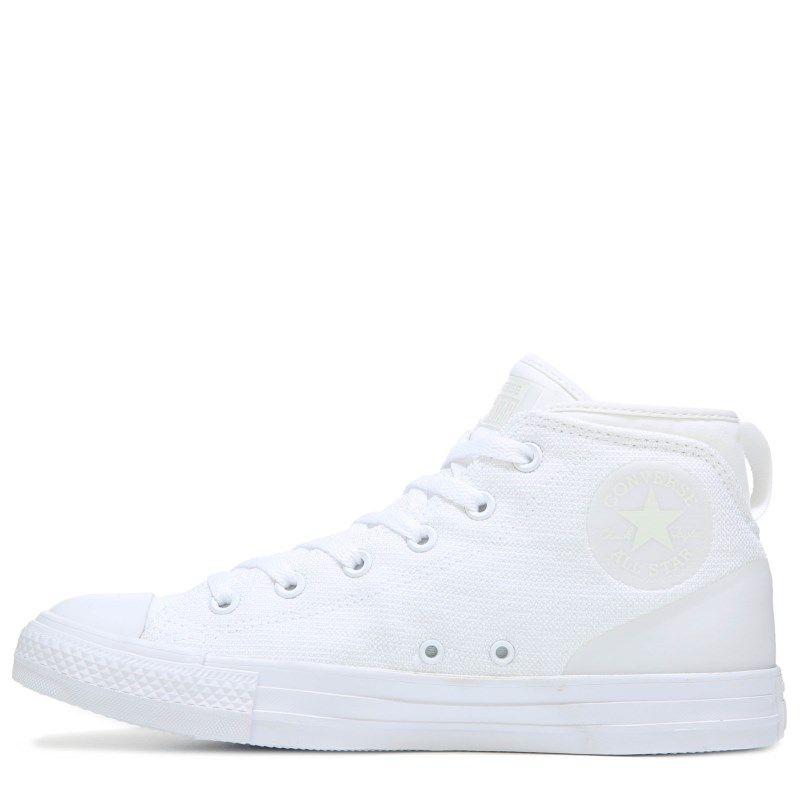 Men's Chuck Taylor All Star Syde Street Poly Mid Sneaker #whiteallstars
