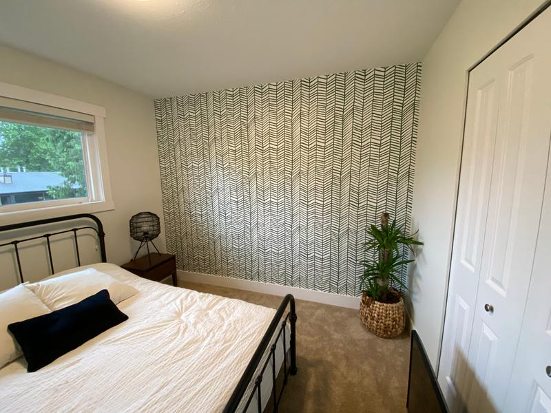 Roommates Vintage Floral Stripe Peel And Stick Wallpaper Blue Wallpaper Wallpaper Roll Peel And Stick Wallpaper