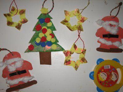 Manualidades para colgar en un arbol de navidad buscar - Buscar manualidades de navidad ...