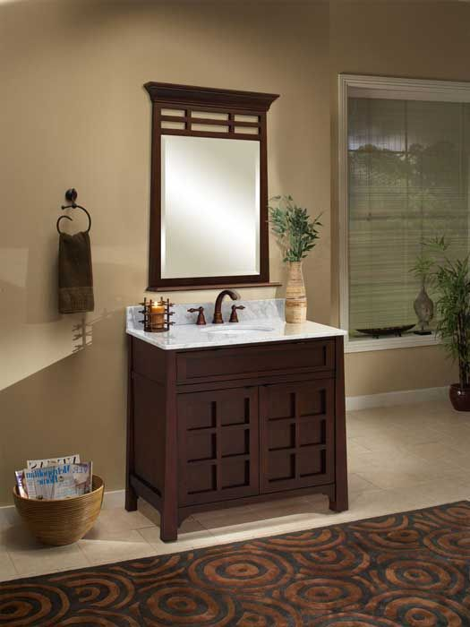 What S The Standard Depth Of A Bathroom Vanity Asian Bathroom Bathroom Style Zen Bathroom