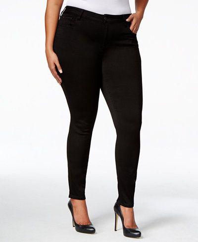Celebrity Pink Petite Plus Size Super-Soft Walker Skinny Jeans