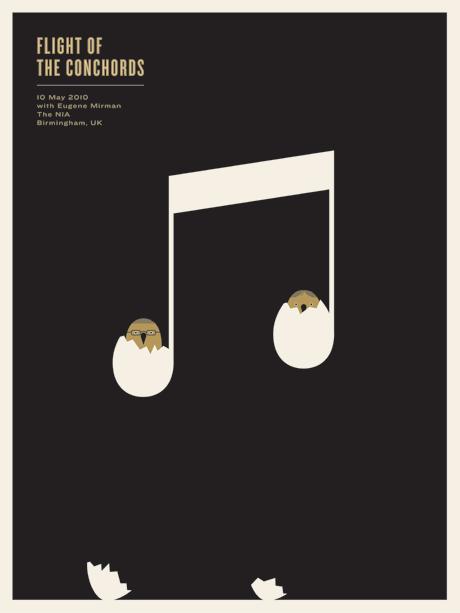 Enjoy the Creativity of Jason Munn in his Music Posters