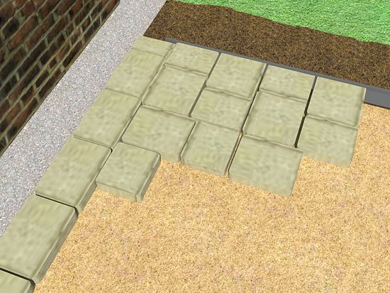 Best 25 How To Install Pavers Ideas On Pinterest Stone