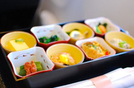 Japan Airlines Bento Box In Flight Meal Airline Food Meals